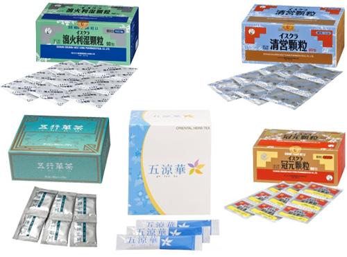 大人ニキビによく使われる代表的な漢方薬