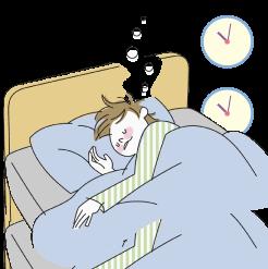 脂漏性皮膚炎しろうせいひふえん22時には寝る
